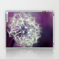 purple dandelion Laptop & iPad Skin