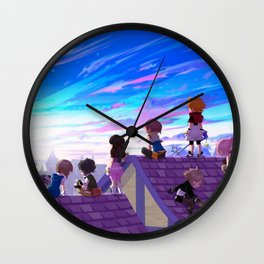 Kingdom Hearts Wall Clock