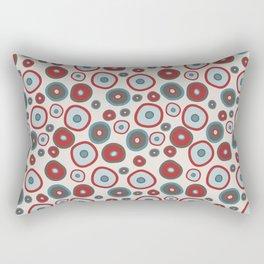 Organic circles Rectangular Pillow