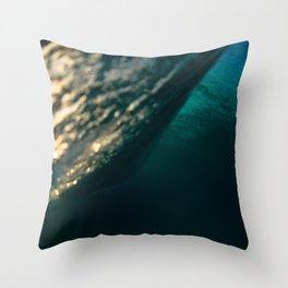 Backside Throw Pillow