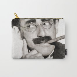 Groucho Marx, Vintage Comedian Carry-All Pouch