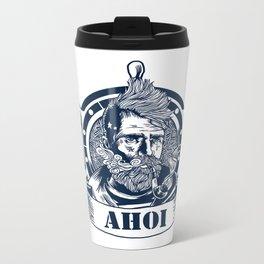Sailor Lasse Ahoi Metal Travel Mug