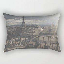 Un Balcon à Paris Rectangular Pillow