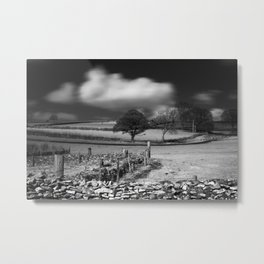 Cloud Wall Metal Print
