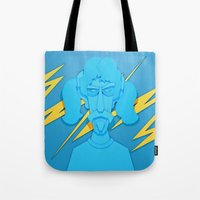 zappa Tote Bags featuring Zappa by freefallflow