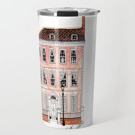 Queens Square Bristol by Charlotte Vallance Travel Mug