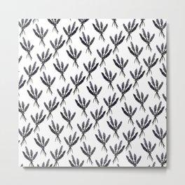Lavender Pattern - Katrina Niswander Metal Print