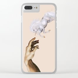 The creation Clear iPhone Case