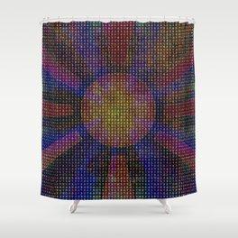 Surya Invocation (Sun) - Magick Square Yantra Tantra Shower Curtain