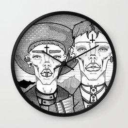 Messengers Wall Clock