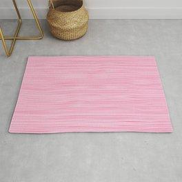 Pink knitting pattern Rug
