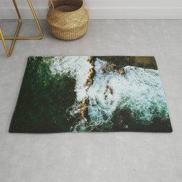 OCEAN - SEA - WATER - ROCKS - PHOTOGRAPHY Rug
