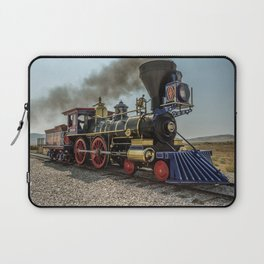 Central Pacific Railroad Jupiter at Golden Spike National Historic Site Utah Transcontinental Laptop Sleeve