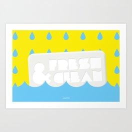 Fresh&Clean Art Print