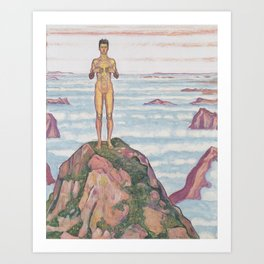 View Into Infinity by Ferdinand Hodler Art Print