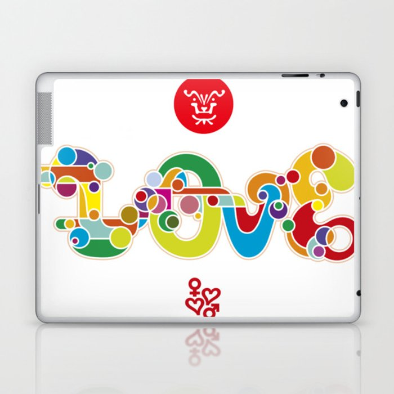 Love For Everyone Laptop & iPad Skin