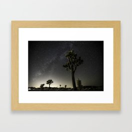 Pioneertown Milky Way Framed Art Print