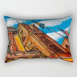 Lancaster City Hall Rectangular Pillow