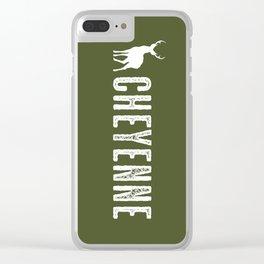 Deer: Cheyenne, Wyoming Clear iPhone Case