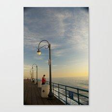 Santa Monica Pier 2 Canvas Print