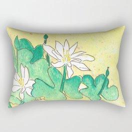 Bloodroot Rectangular Pillow