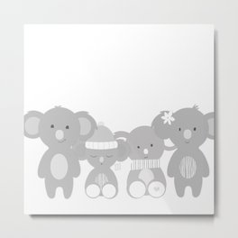 Koala bears Metal Print