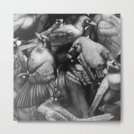 A lot Birds Metal Print