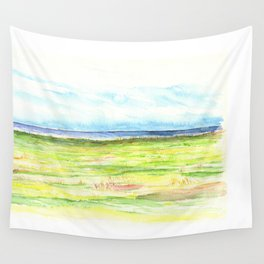 Sea meadow Wall Tapestry