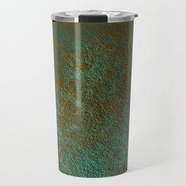 Green Patina Copper rustic decor Travel Mug