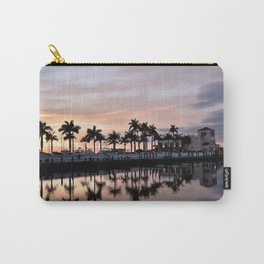 Reflecting Palms Carry-All Pouch