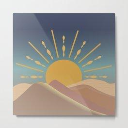 Sun Art Metal Print