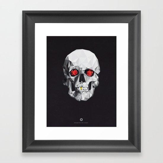 Geometric Eye Candy Framed Art Print