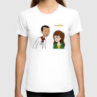 daria T-shirts featuring Daria meets Andres Bonifacio by Cesar Cueva