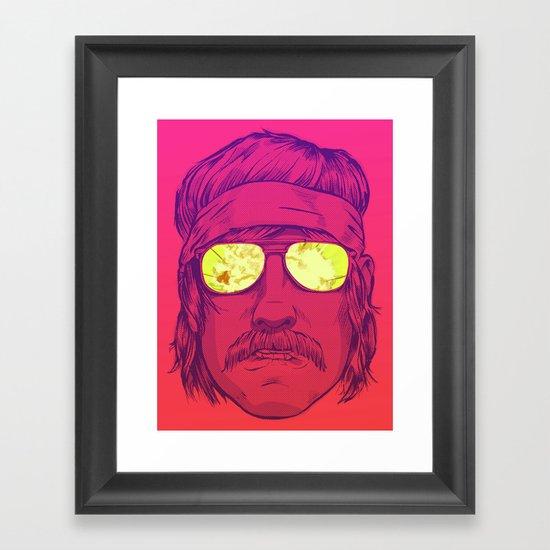Boom! Framed Art Print