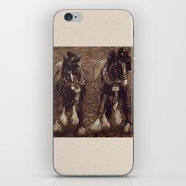 Shires / Horses iPhone Skin