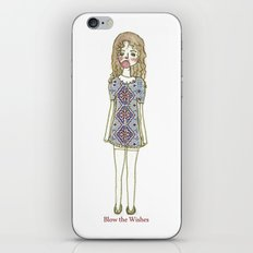 blow the wishes iPhone & iPod Skin