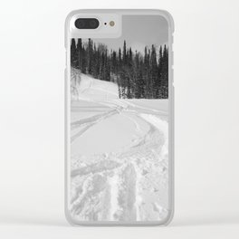 Winter 13 Clear iPhone Case
