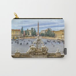 Piazza del Popolo, Rome, Italy Carry-All Pouch