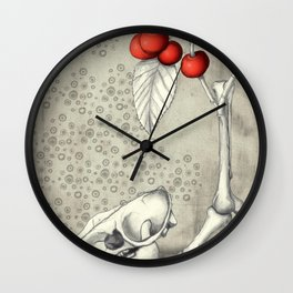 Cerasus Domestica Wall Clock