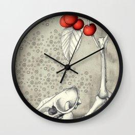 Cerasus Domestica Wall Clock