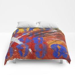 9999 paint Comforters