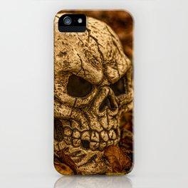 Halloween Skull 1 iPhone Case
