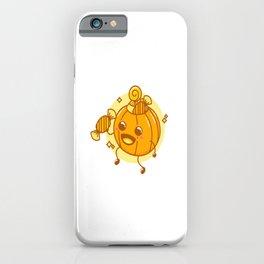 Happy Halloween Pumpkin sweet or sour iPhone Case
