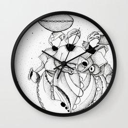 Market Women Wall Clock