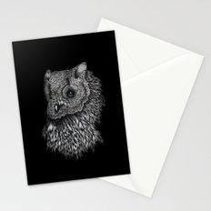 Forsythe in Black Stationery Cards