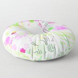 Digital Melon Floor Pillow