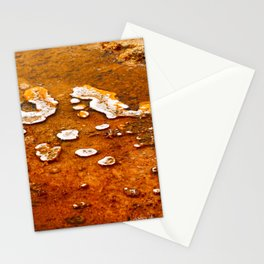 Orange Texture Stationery Cards