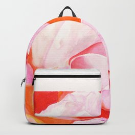Beth's Rose Watercolor Backpack