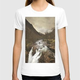 Scottish mountains T-shirt