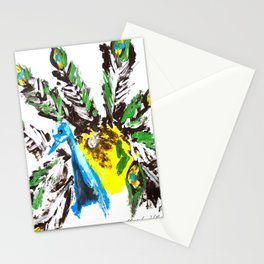 EL PAVO REAL Stationery Cards